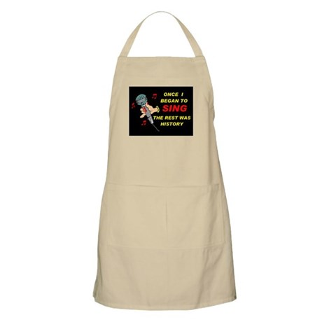 AND NOW LOOK AT ME! - Apron