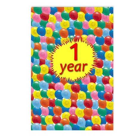 AA Balloon Postcards (Package of 8)