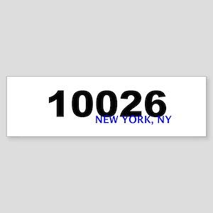 10026 Bumper Sticker