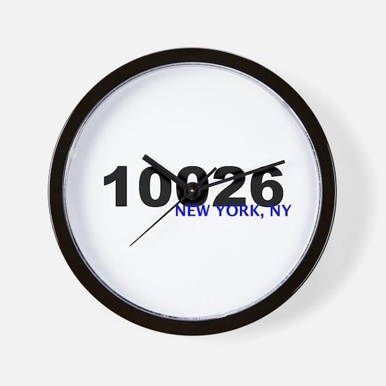 10026 Wall Clock
