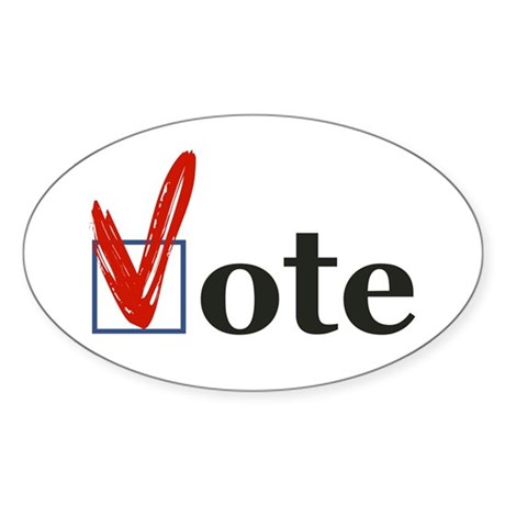 """VOTE"" Sticker"