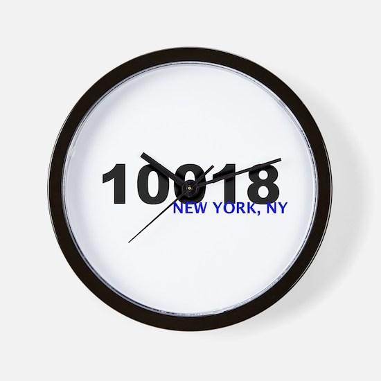 10018 Wall Clock