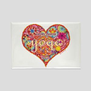 Yoga Retro Kinesthetic Intellectual Rectangle Magn