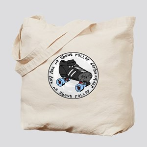 Ask Me About Roller Derby Tote Bag