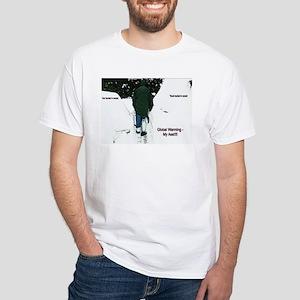 December 2009 Snow Storm White T-Shirt