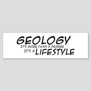 Geology Lifestyle Bumper Sticker