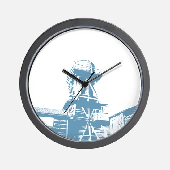 WaterTower Wall Clock