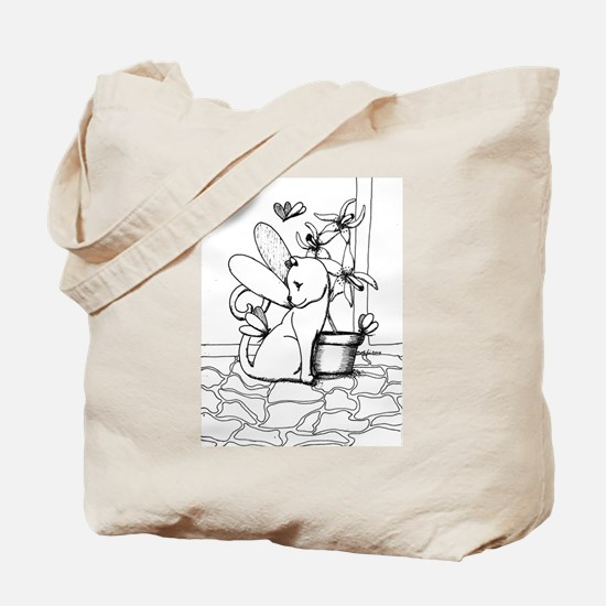 Wings and Orchids Tote Bag