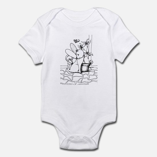 Wings and Orchids Infant Bodysuit