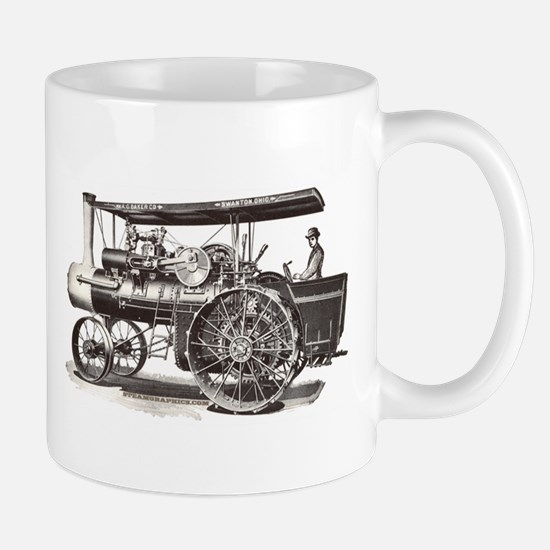 Baker Steam Tractor - Mug