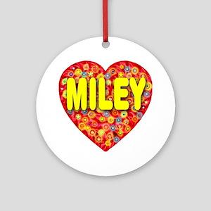 Miley Ornament (Round)