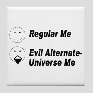 Evil Me Tile Coaster
