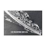 USS BRADFORD Mini Poster Print