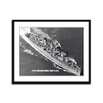 USS BRADFORD Framed Panel Print