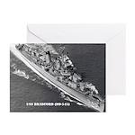 USS BRADFORD Greeting Cards (Pk of 10)