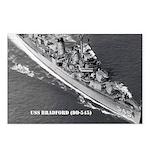 USS BRADFORD Postcards (Package of 8)