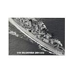 USS BRADFORD Rectangle Magnet
