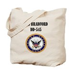 USS BRADFORD Tote Bag