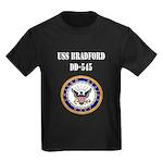USS BRADFORD Kids Dark T-Shirt