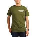 USS BRADFORD Organic Men's T-Shirt (dark)