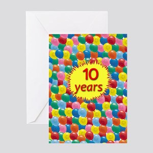 AABalloons10 Greeting Cards
