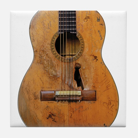 Trigger, Willy Nelson's Guitar Tile Coaster