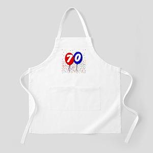 70th Birthday BBQ Apron
