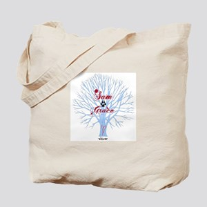 Shiver- Sam and Grace Tote Bag