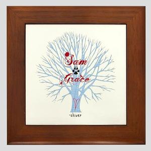 Shiver- Sam and Grace Framed Tile