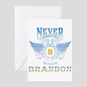 brandon Greeting Cards