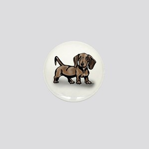 Dachshund Mini Button