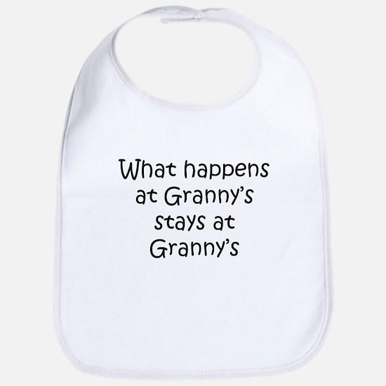 What happens Grannys Bib