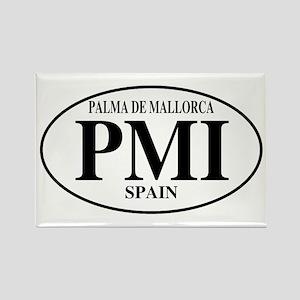PMI Palma De Mallorca Rectangle Magnet