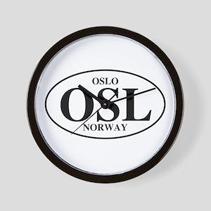 OSL Oslo Wall Clock