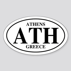 ATH Athens Oval Sticker