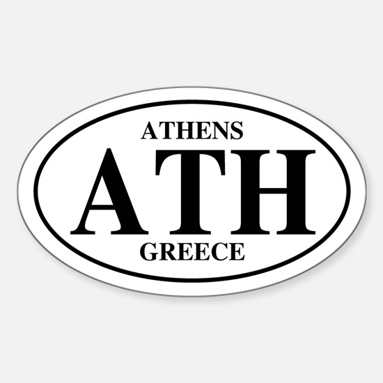 ATH Athens Oval Decal