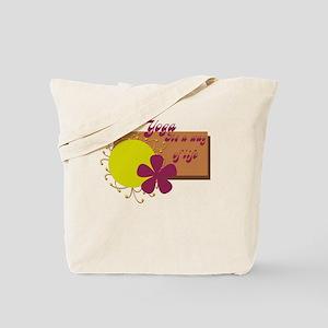 Yoga, Its a Way of Life Tote Bag