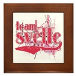 Team Svelte Framed Tile