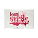 Team Svelte Rectangle Magnet (100 pack)
