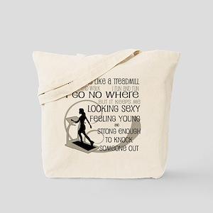 Treadmill Tote Bag