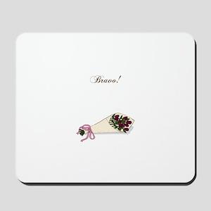 """""""Bravo"""" Bouquet Mousepad"""