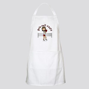 Light Red Boxer Apron