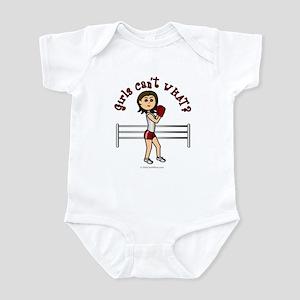 Light Red Boxer Infant Bodysuit