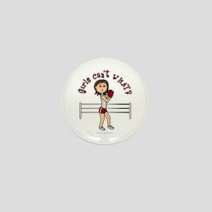 Light Red Boxer Mini Button