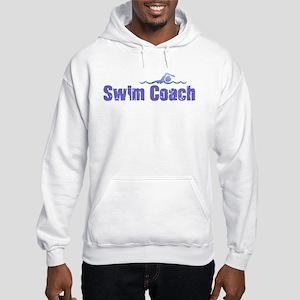 SWIM COACH Hooded Sweatshirt