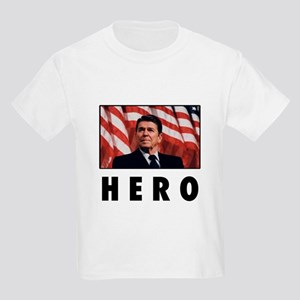 Ronald Reagan: HERO Kids Light T-Shirt