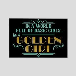 Basic Girl No Golden Girl Magnets