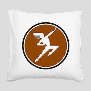 Hiawatha train logo Square Canvas Pillow