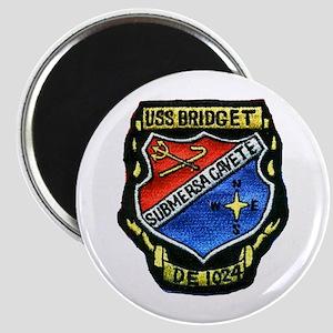 USS BRIDGET Magnet