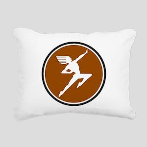 Hiawatha train logo Rectangular Canvas Pillow